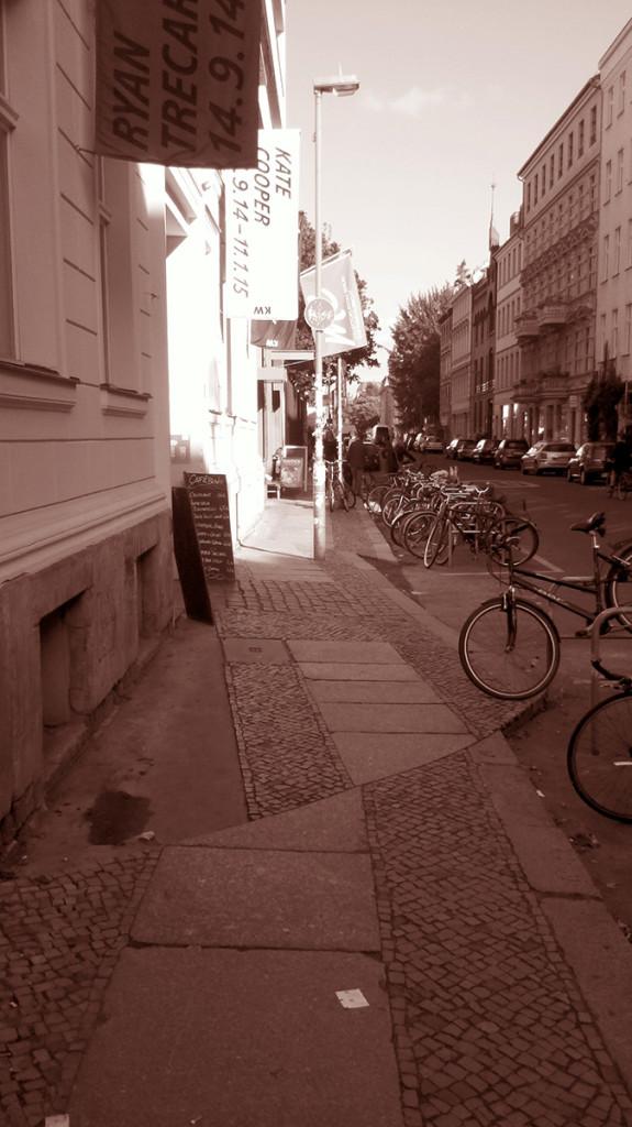 Auguststraße Berlin Mitte, Foto B. Flesser